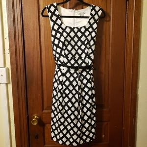 White House Black Market Midi Dress